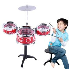 Drum Set Toy Model Children Educational Musical Equipment Multisensor Small Gift