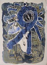 André MARCHAND (1907-97) Litho Années 60 / Illustrations fables de la Fontaine