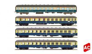 HS  Lemke Hobbytrain H43028 Ostsee Express München-Berlin 4 teilig  A/c Wechsels