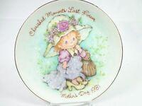 Vintage Avon Mother's day Porcelain Plate Cherished Moments last forever 1981