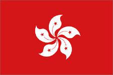 HONG KONG FLAG 5' x 3' Asia Asian Flags