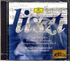 Giuseppe Sinopoli: Liszt les Preludes Orpheus Mazepa Hungarian Rhapsody No. 2 CD