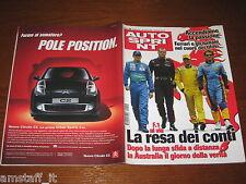 AUTOSPRINT 2004/9=RALLY VOLTERRA/MESSICO=ELISA GIORDAN=SUBARU LEGACY 3.0=