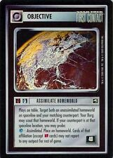 Star Trek CCG Reflections Assimilate Homeworld Very Rare Foil VRF