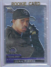2000 Juan Pierre Topps Traded Chrome Rookie Card RC #T34 Mint