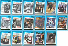 """Doctor Who Definitive 1: """"Radio Times Covers Cards"""" Set of 17 Chase Cards R1-R17"""