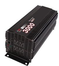 Premium 3000 Watt Power Inverter/ Convert 12 Volt DC to 110 Volt AC NEW