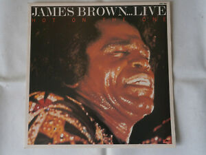 JAMES BROWN / HOT ON THE ONE LIVE / LP VINYL / 1980