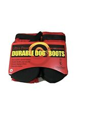 New listing Ultra Paws Durable Dog Boots Size Petite Washable Reusable New