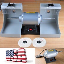 Portable Dental Lab Equipment burnishing Polishing Lathe Machine