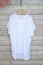 Vestiti da donna bianchi corto, mini taglia XL