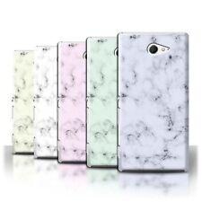 Housses et coques anti-chocs blanc Sony Xperia M pour téléphone mobile et assistant personnel (PDA)