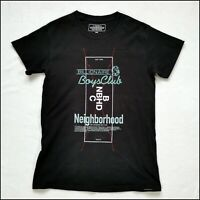 Neighborhood NBHD x Billionaire Boys Club T-Shirt | XS/Small | Black | Rare