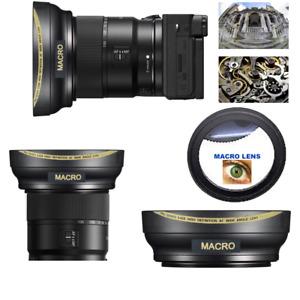 HD3 ULTRA WIDE FISHEYE LENS + MACRO LENS Sony Alpha a6600 with 18-135mm Lens