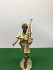 KING AND COUNTRY WW2 INDIAN SEEK DESERT BRITISH SOLDIER FIGURE S109