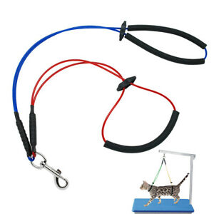 Haunch Holder Grooming Harness Noose System For Dogs Restraint No Sit Leash Loop