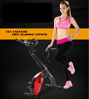 Exercise Bike Gym Magnetic  Trainer Cardio Fitness Workout Folding  Machine