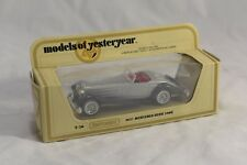 MATCHBOX MODELS OF YESTERYEAR SCALE 1:45 Y-20 1937 MERCEDES-BENZ 540K SILVER