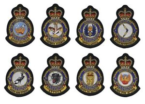 RAAF Fighter Squadron Crest Patch Value Pack - New