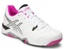 Asics Gel Challenger 10 - Womens Tennis Shoes - White/Pink