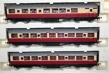 HORNBY MADE IN CHINA RAKE OF 3 BR (ex LNER) COACHES EX R2435 TRAIN PACK
