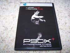 P90X Upper Plus Abs/Core Plus Workout DVD Tony Horton Fitness Strength Exercise