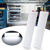 2X 72 LED 12V Interior Light Strip Bar Indoor Ceiling Lamp Car Van ON/OFF Switch