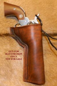 """Gary C's Leather Western Slim Jim HOLSTER Ruger NM Vaquero 5-1/2"""". Colt SAA."""