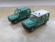 zwei Modellautos,Wiking,1:87, Polizei, Mercedes 230 GE,OVP