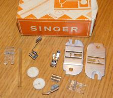 LOT pièce FOOT MACHINE à COUDRE SINGER Nähmaschine SEWING pied plaque plate