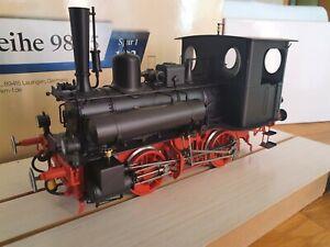 KM1 109815 Dampflok BR 98.75 mit Beschriftungsvarianten DB IIIa Unbenutzt in OVP