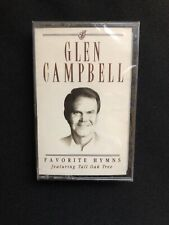 Glen Campbell Favorite Hymns Audio Cassette - NEW Sealed - Benefits Charity