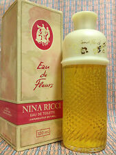 Vintage 1980s Eau de Fleurs 4 oz 120 ml Eau de Toilette Nina Ricci FIRST FORMULA