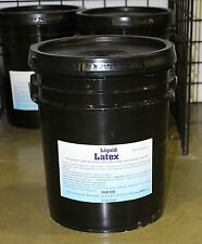 Liquid Latex-Five Gallon Pail-High Solid Content, Less Shrinkage-Sculpting,Molds