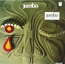 Jumbo - same  ( IT  1972 ) silver-black mix coloured LP - Vinyl re-release - BTF