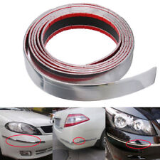 Exterior Car Chrome Adhesive Strip Trim Molding Styling Decoration 2.5M 30mm DIY