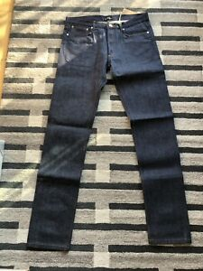 BNWT APC Petit New Standard Selvedge Denim Jeans W33 L34