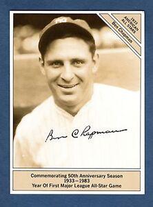 "GIANTsize 4.5""x 6"" Conlon 1933 All-Star: BEN CHAPMAN, Yankees/1983 Marketcom"