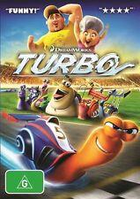 Turbo (2014)  - DVD - very good condition like new  Region 4