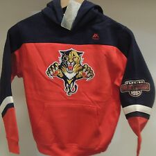 NHL Florida Panthers Hockey Hooded Sweatshirt New Youth X-LARGE