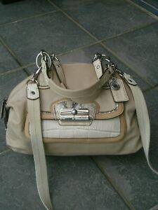 COACH CROSSBODY/HAND LEATHER BAG.N:L 1171-19308.