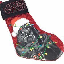 "Disney STAR WARS Darth Vader Christmas Stocking Sock Holiday 18"""