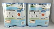 Intex Twin Pack Filter Cartridge #29002T  2 Sets