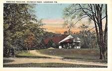 Ligonier Pennsylvania Idlewild Park Dancing Pavilion Antique Postcard K15300