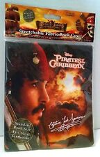 Pirates of the Caribbean Fabric Book Cover Johnny Depp Orlando Bloom Sparrow