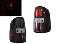 DEPO 04 05 06 07 08 Ford F150 F-150 Styleside Truck Black Rear LED Tail Lights