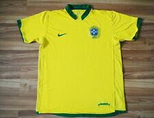 BRAZIL NATIONAL TEAM WORLD CUP 2006-2007-2008 HOME FOOTBALL SHIRT JERSEY LARGE