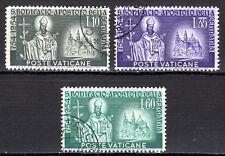 Vatican City - 1955 St. Bonifatius - Mi. 230-32 VFU
