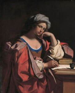 Guercino The Persian Siby Poster Reproduction Paintings Giclee Canvas Print