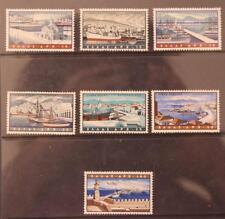 Greece 1958 Greek Ports Air Stamp Set MNH SG784-790